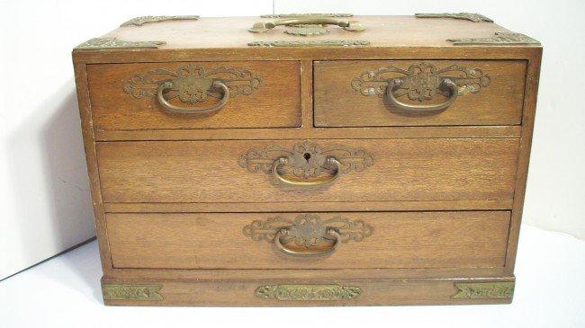16: VINTAGE JEWELRY BOX