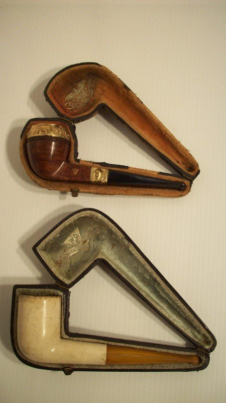 17: LOT OF 2 VINTAGE WDC PIPES