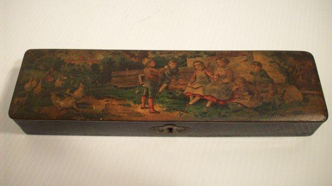 18: VINTAGE PENCIL BOX