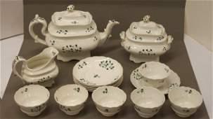 107: MID 19th CENTURY ADAMS TEA SET