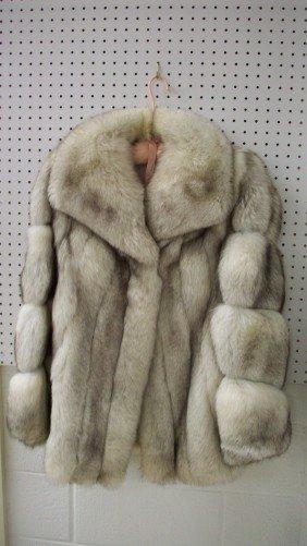 227: HUBERT FOX FUR COAT
