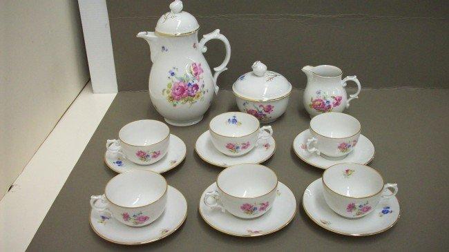 6: Furstenberg Germany Tea Set