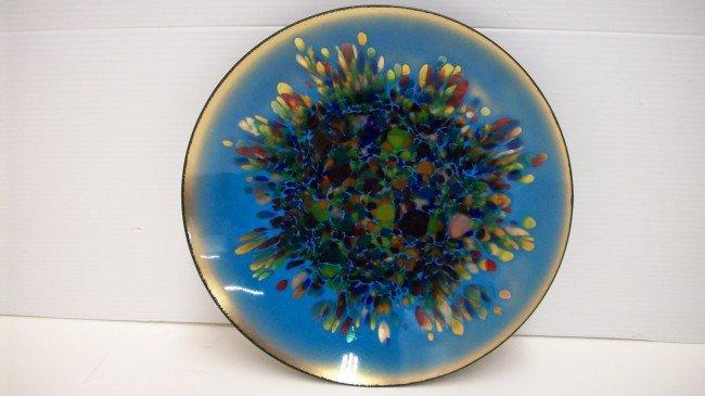 13: Enamel on Copper Bowl
