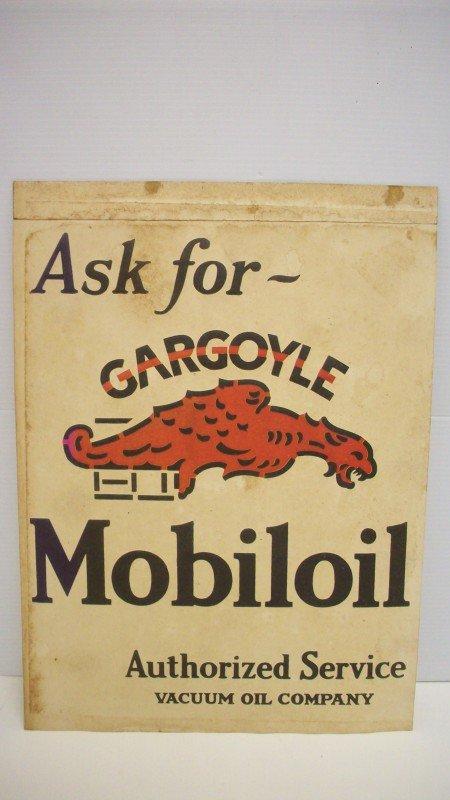 16: Vintage Gargoyle Mobiloil Poster