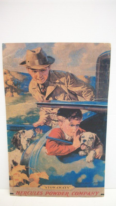 17: Vintage Hercules Powder Company Poster