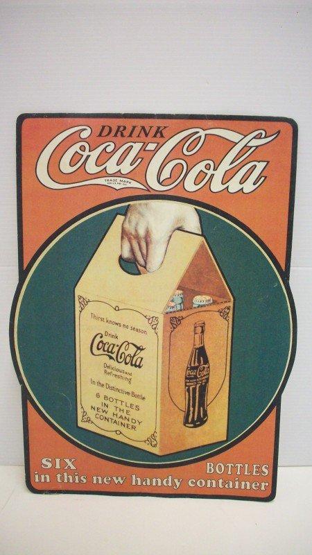 22: Coca-Cola 1920's Handy Container Poster