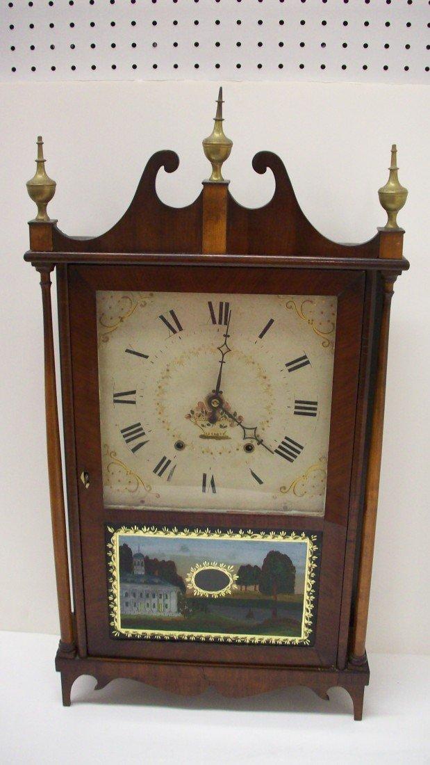 131: Eli Terry Pillar & Scroll Clock