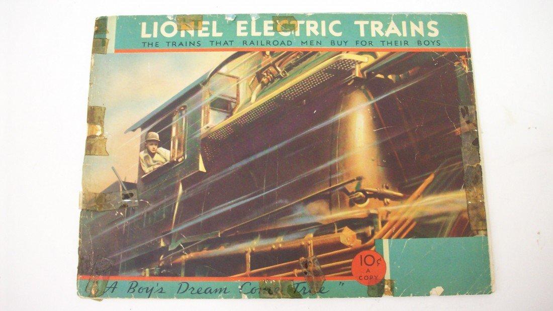 3: Lionel Electric Train Catolog