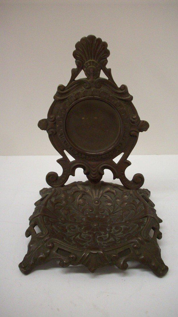 10: Brass and Cast Pocketwatch Stand