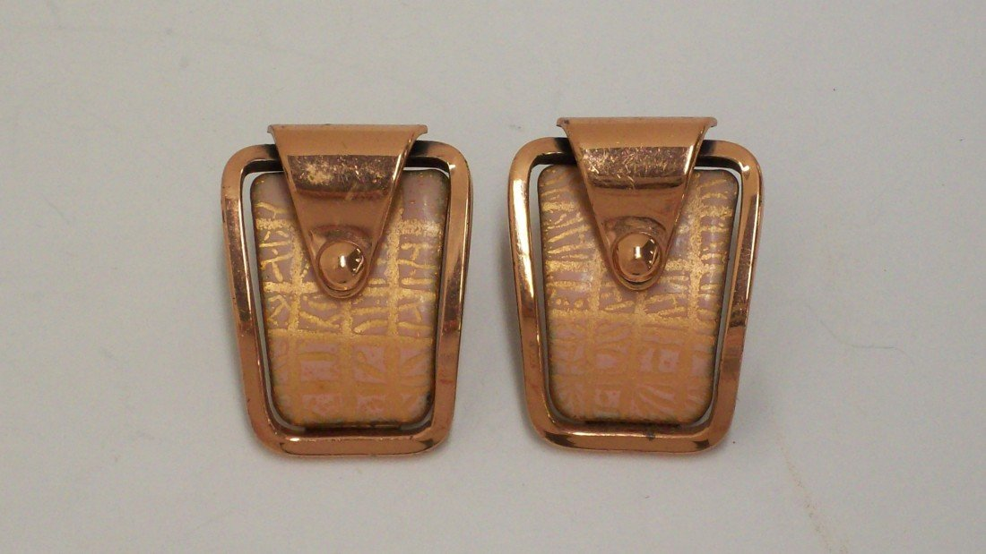 12: Matisse Clip-on Earrings