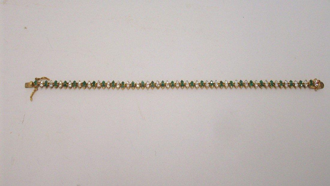 20: Sterling Vermeil Bracelet