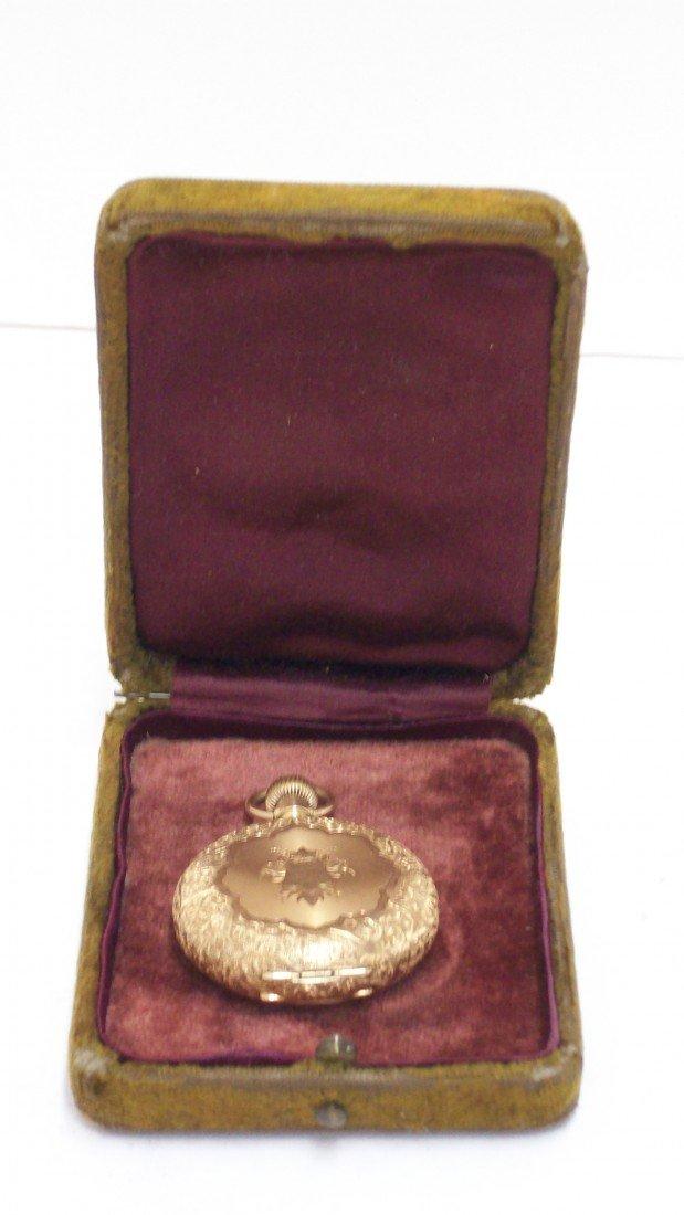 23: Gold Elgin Pocketwatch