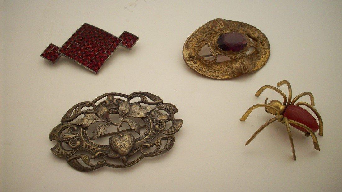 2: Lot Vintage Costume Pins