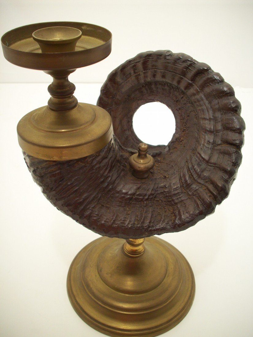 7: Rams Horn Candle Stand