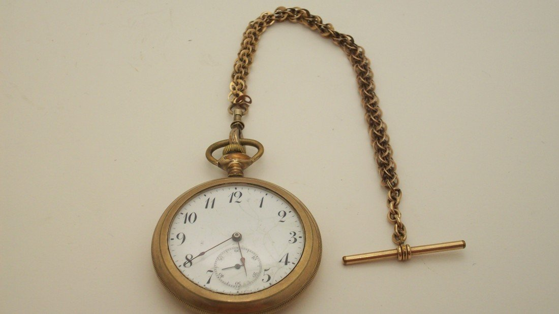 12: Pocket watch and Chain