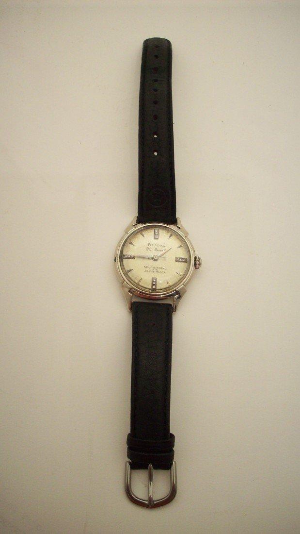 13: 1955 Bulova Man's Wrist Watch