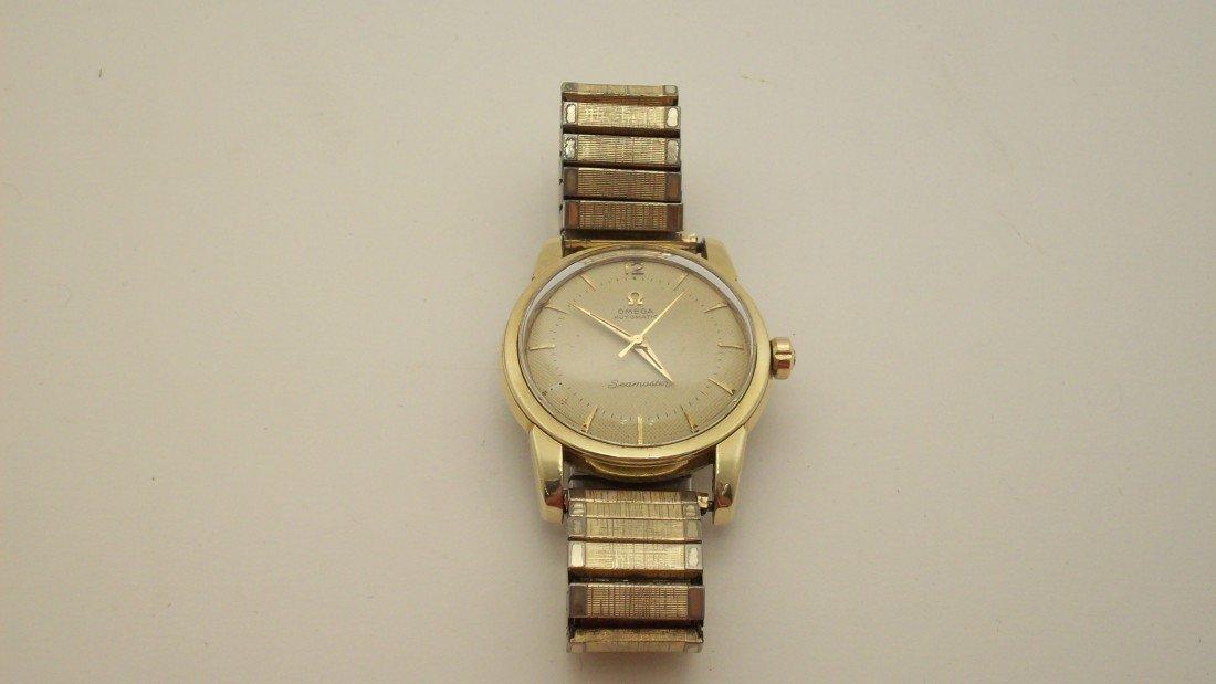 14: Omega Seamaster Men's Wrist Watch