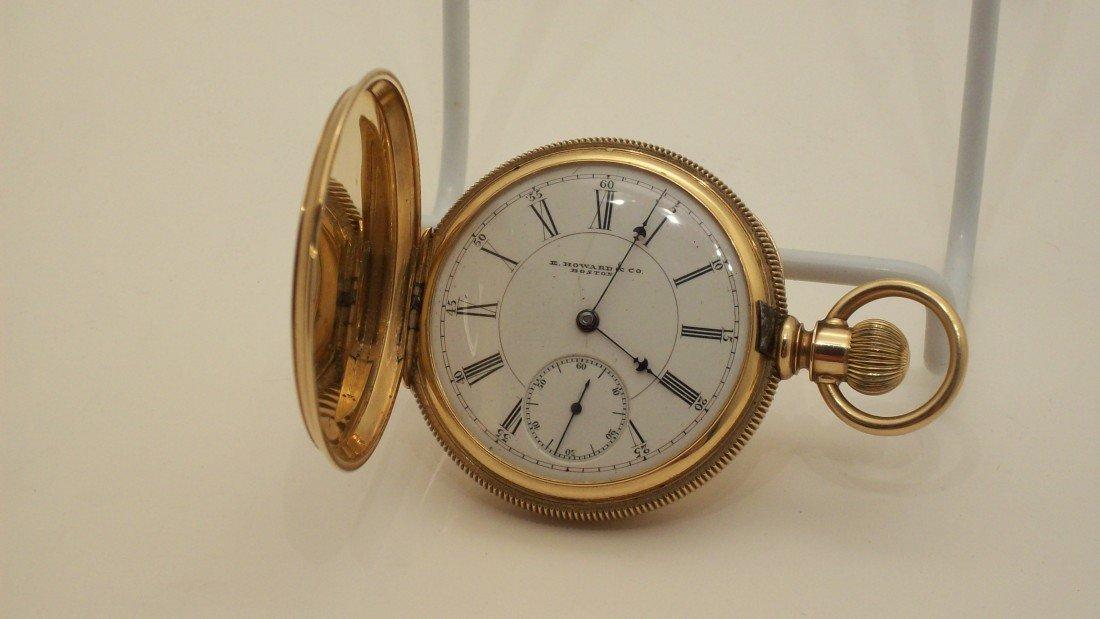 17: E. Howard & Co. 14KT Gold Pocketwatch