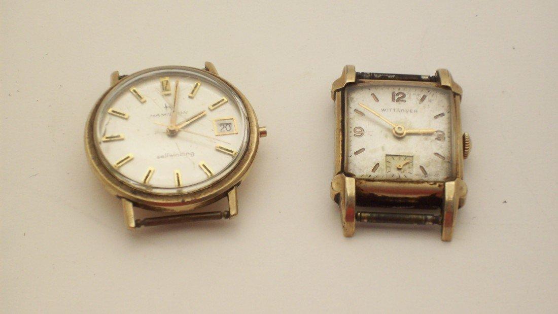 18: Swiss Wittnauer and Hamilton Wrist Watches
