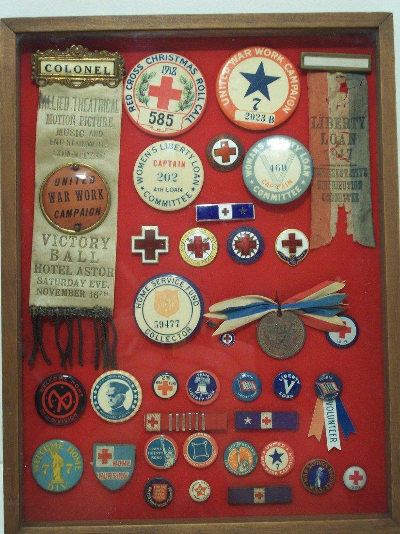 82: Collage WWI Home Front Campaign Memorabilia