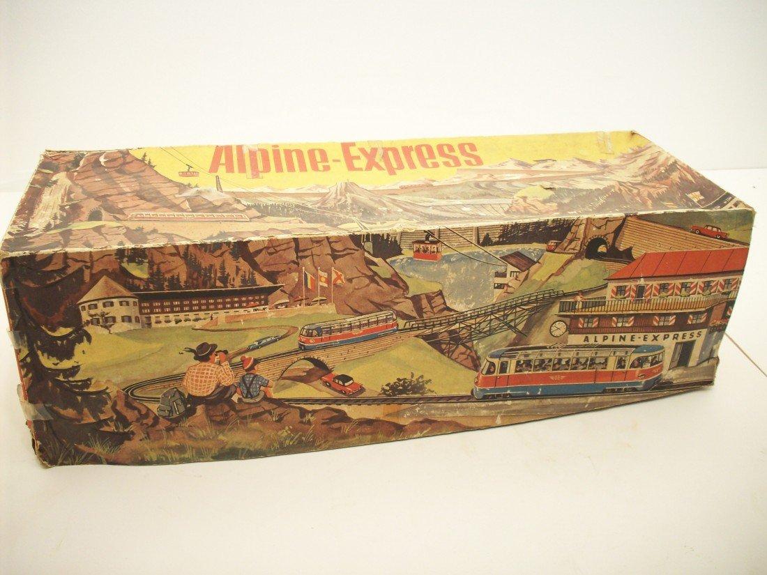 87: Marke Technofix Tin Litho Wind Up Toy 'Alpine Ex...