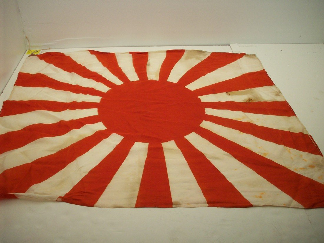 93: WWII Japanese Army Rising Sun Flag