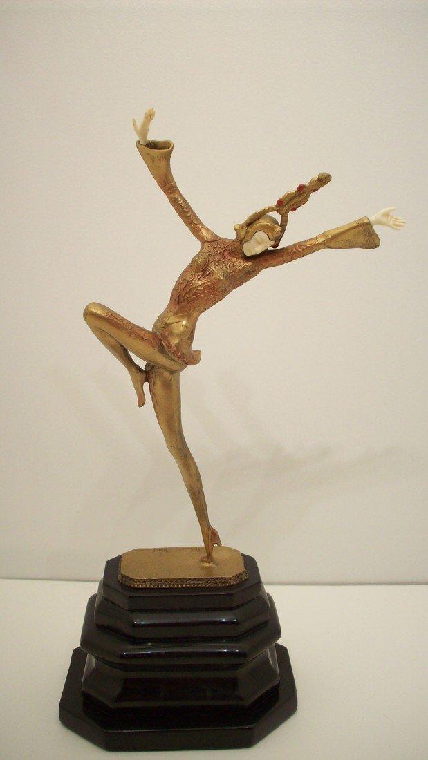 """97: Schmidt-Cassel Bronze """"Eastern Dancer"""""""