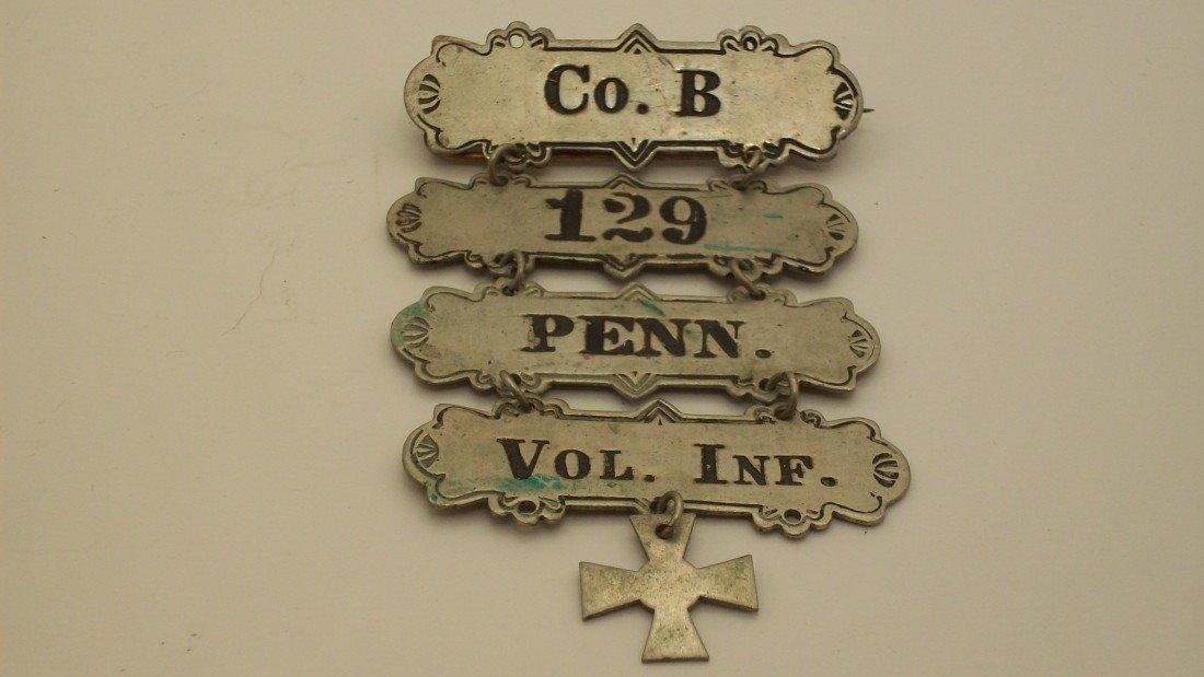 100: Civil War Ladder Badge