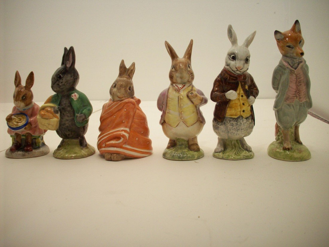 Lot of 6 Beswick and Royal Doulton Figures