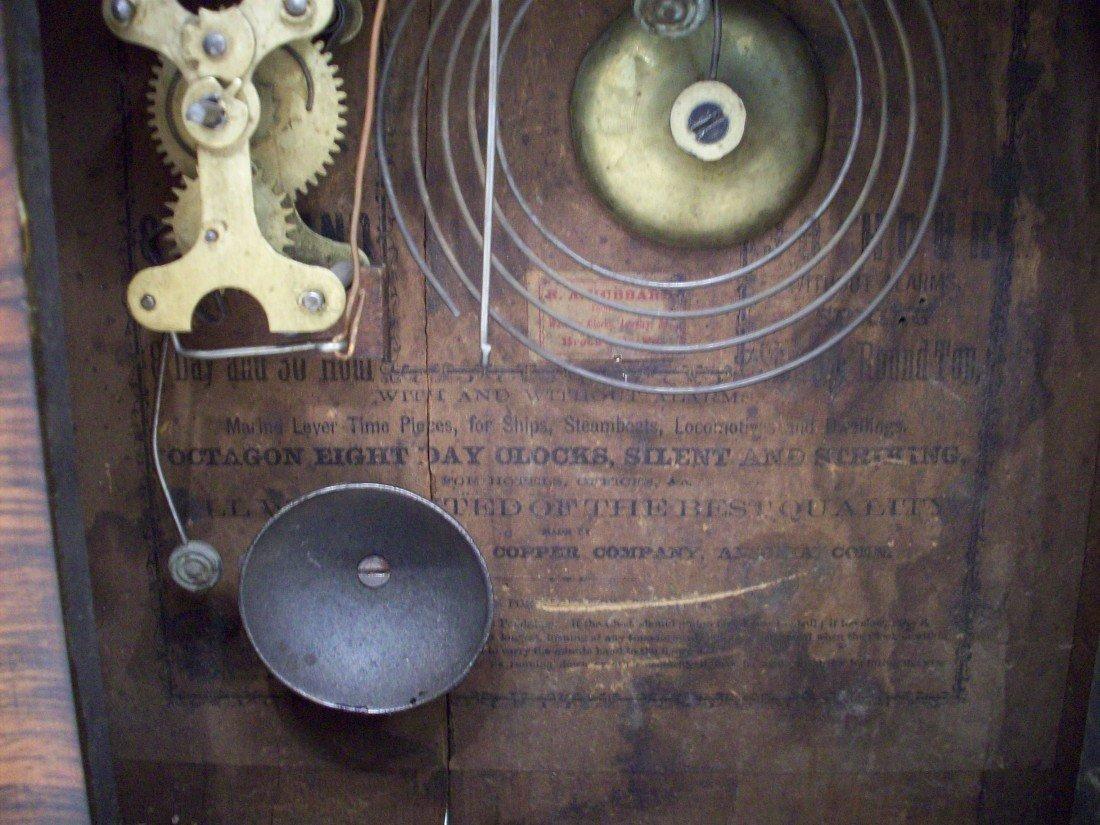 Ansonia Brass & Copper Co. Ogee Clock - 7