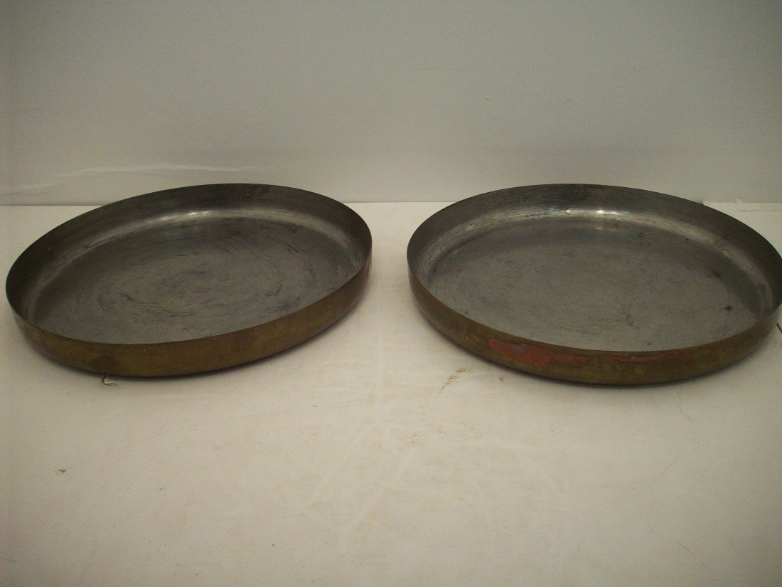 Indian Copper Cooking Trays
