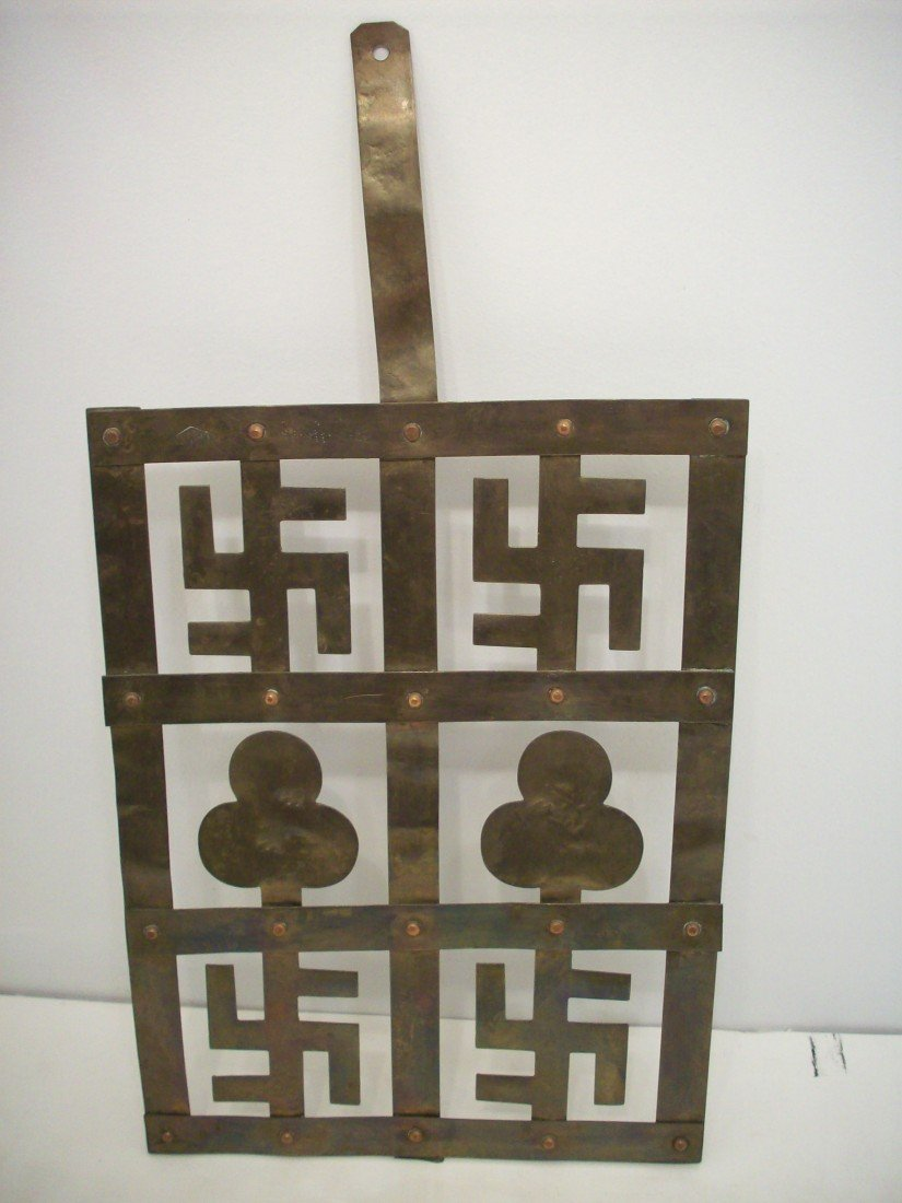 Indian Good Luck Brass Hanging