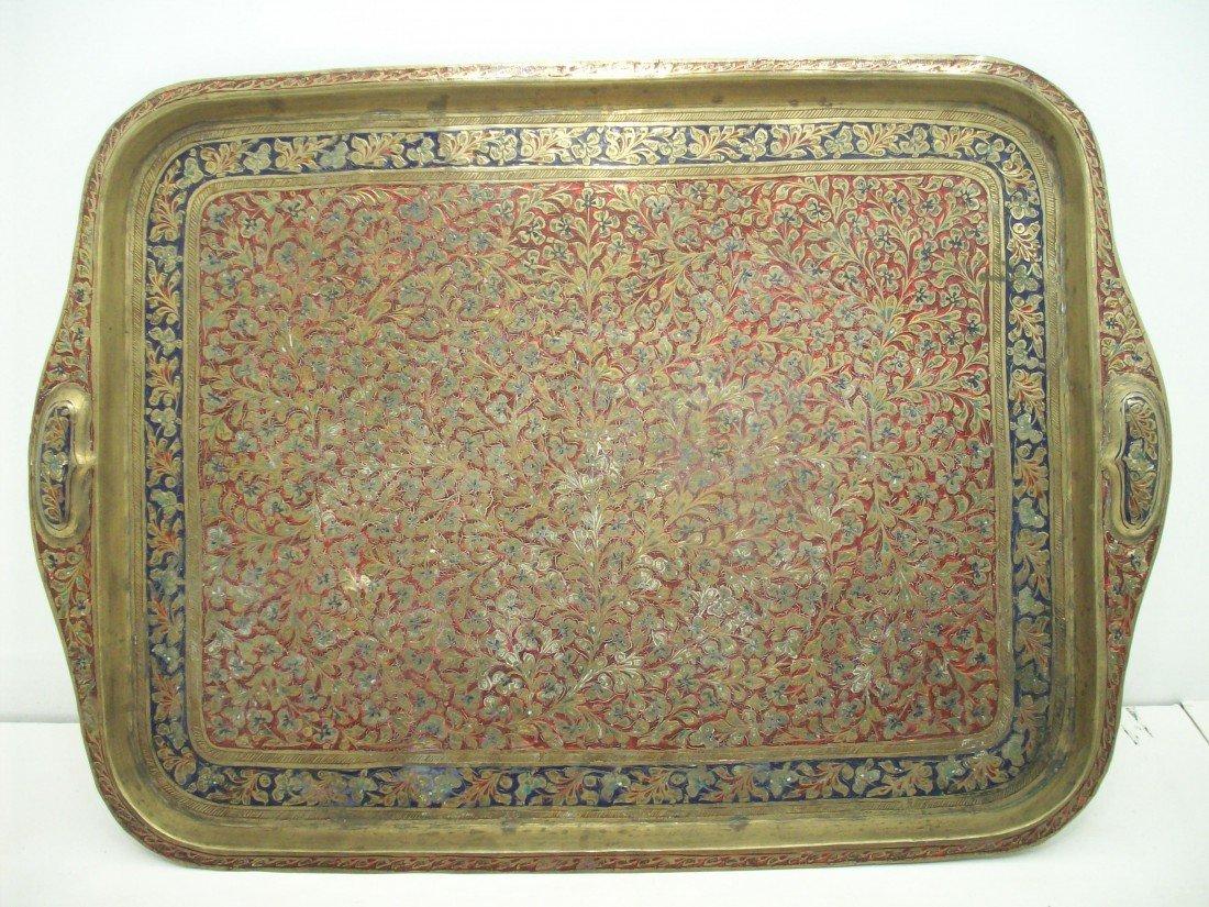 Indian Enameled Tray