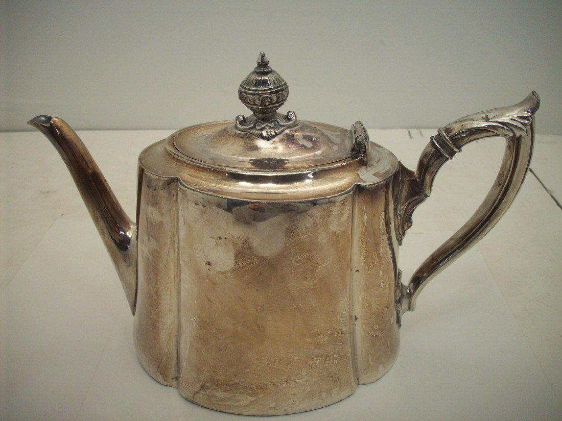 Philip Ashberry & Sons Sheffield Silverplate Tea Pot