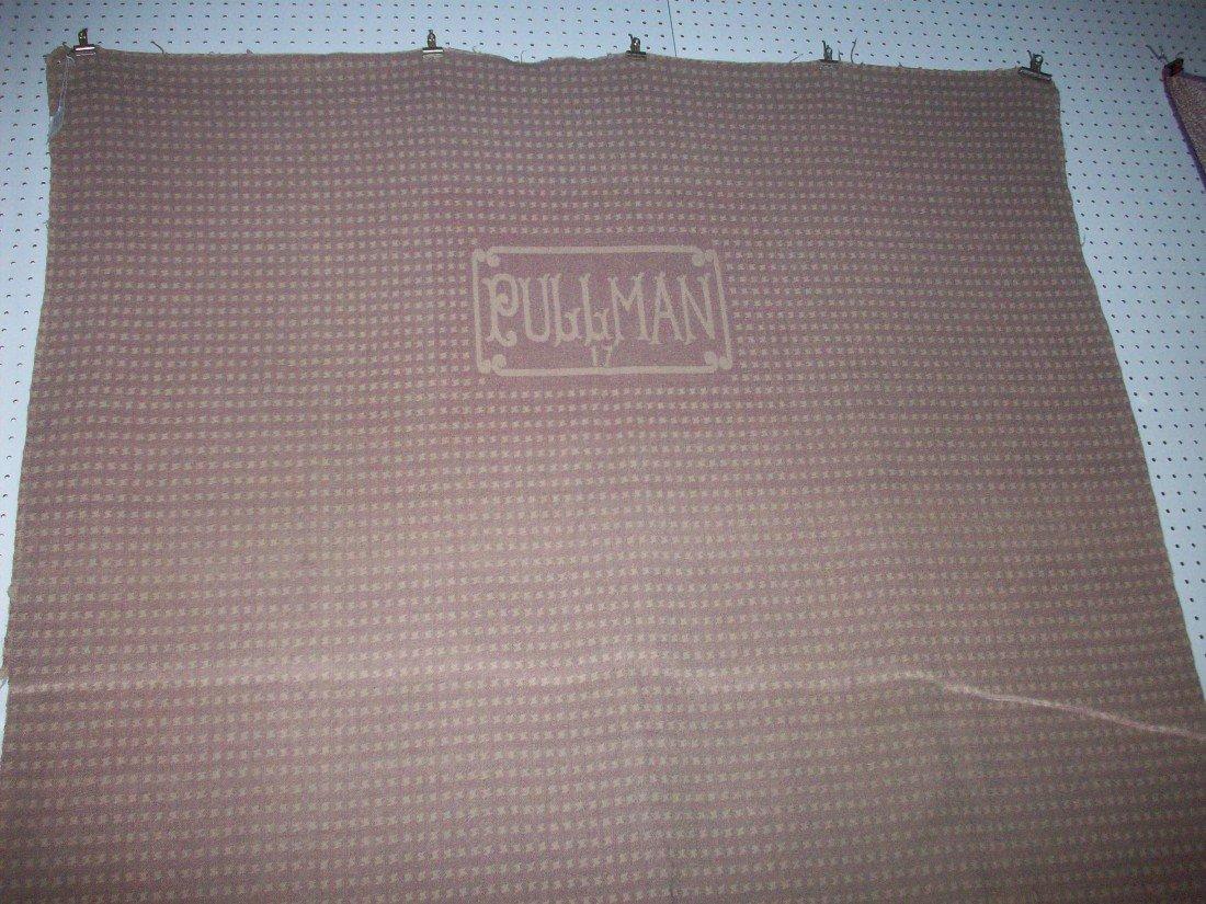Vintage Pullman Railroad Sleeping Car Wool Blanket - 3