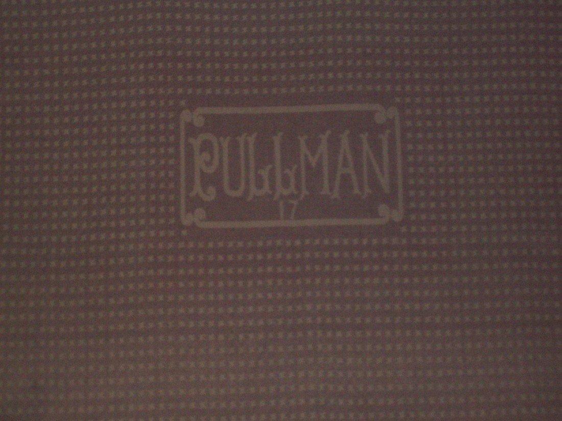 Vintage Pullman Railroad Sleeping Car Wool Blanket - 6