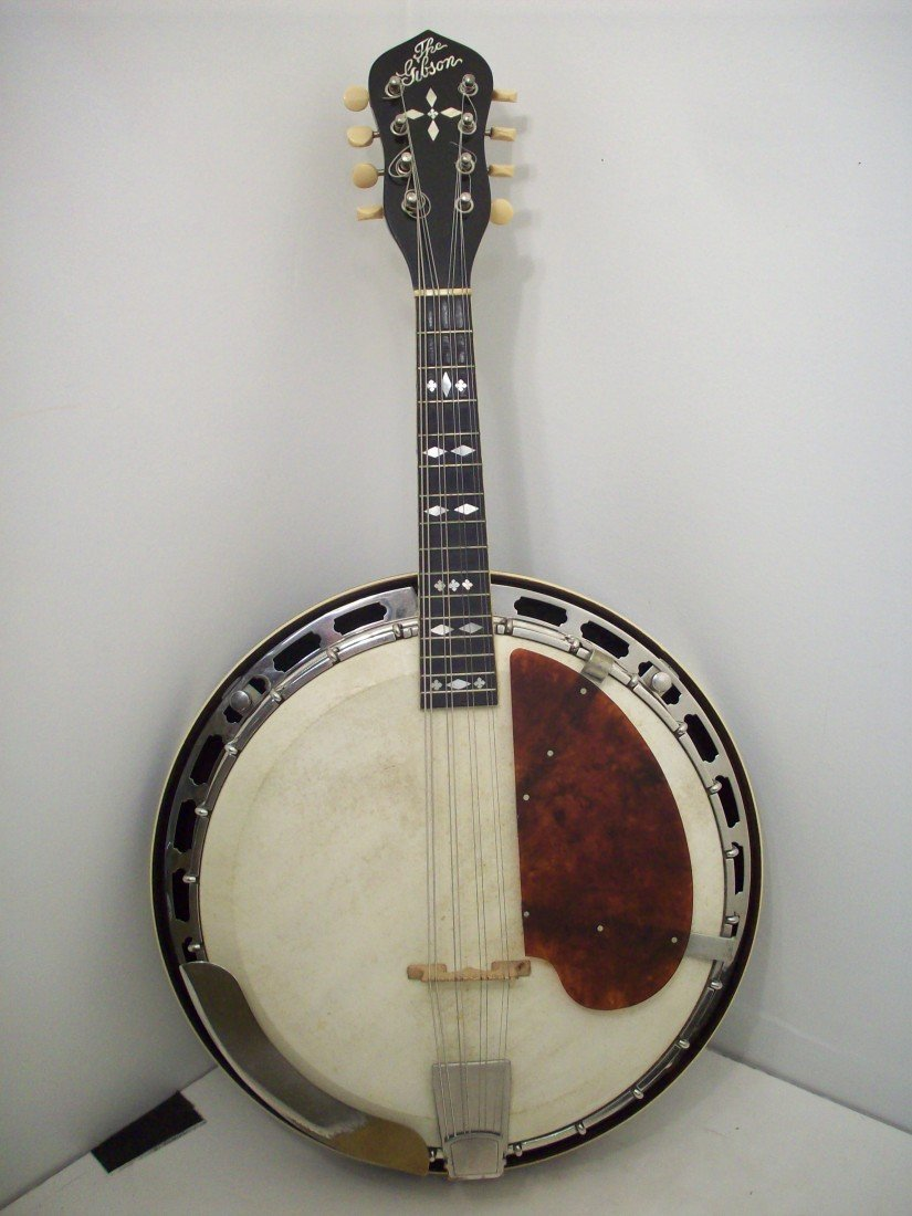 The Gibson Banjo-Mandolin MB-3 with Case - 2
