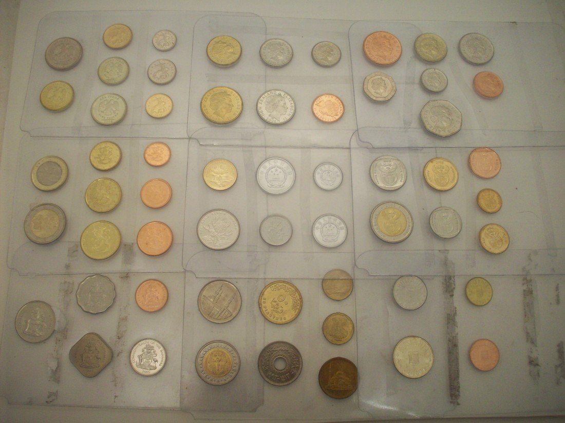 Lot of 9 Sets of Foreign Coins #2
