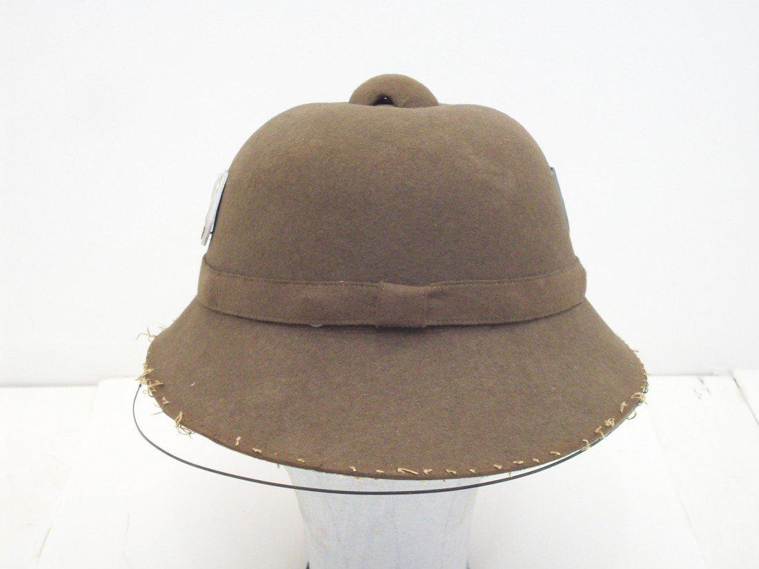 German WWII Afrikakorps Sun Helmet
