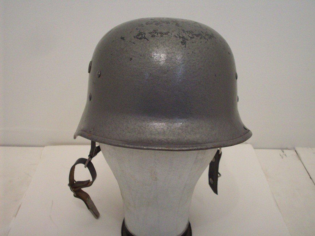 Post War East German Fire Helmet