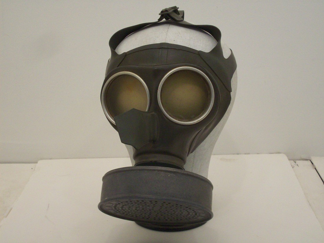 German WWII Civilian Gas Mask