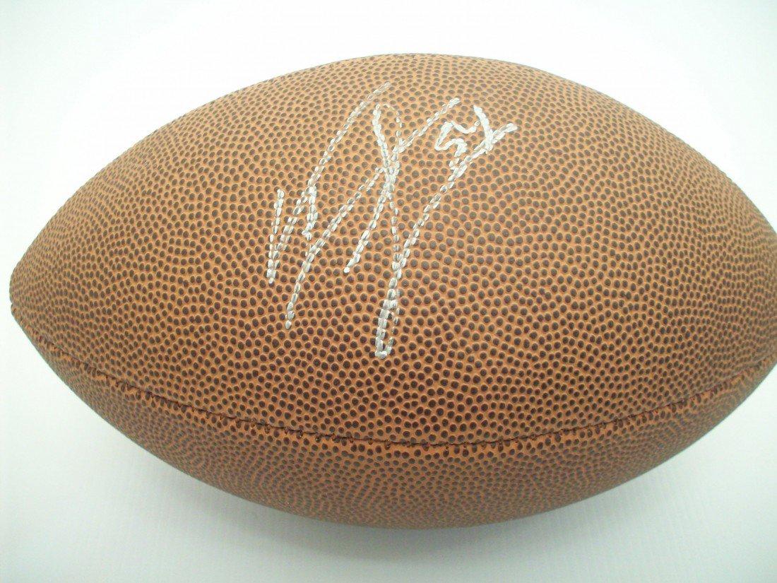 Jeremiah Trotter Autographed Junior Football