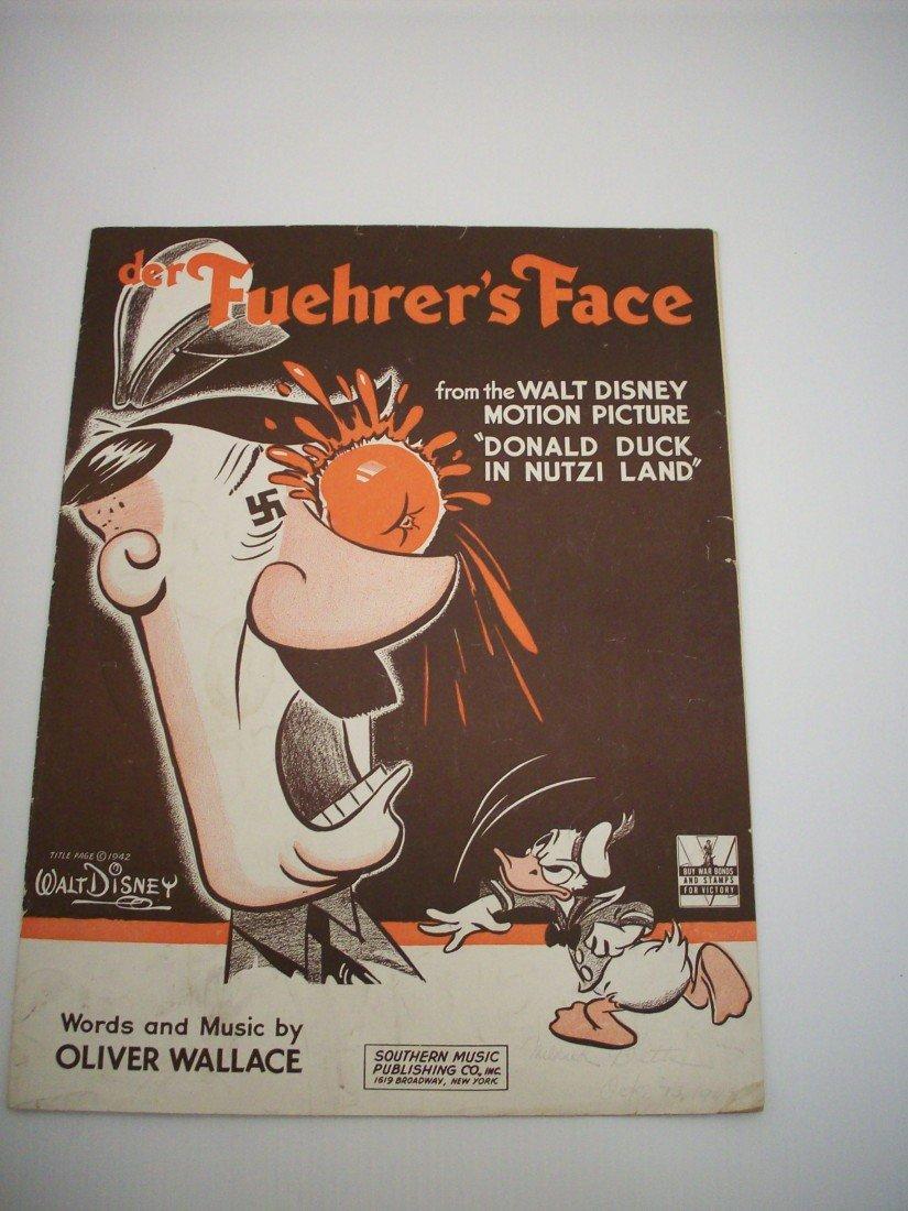 Walt Disney Songbook 'Der Fuehrer's Face'
