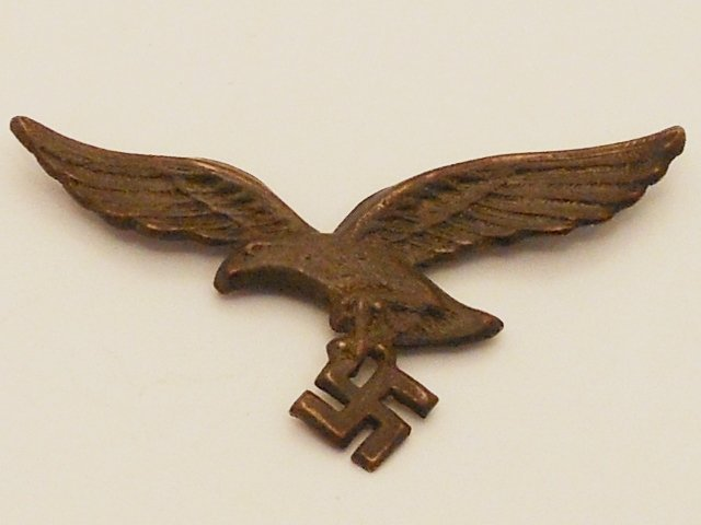 German Luftwaffe Eagle and Swastika Pin