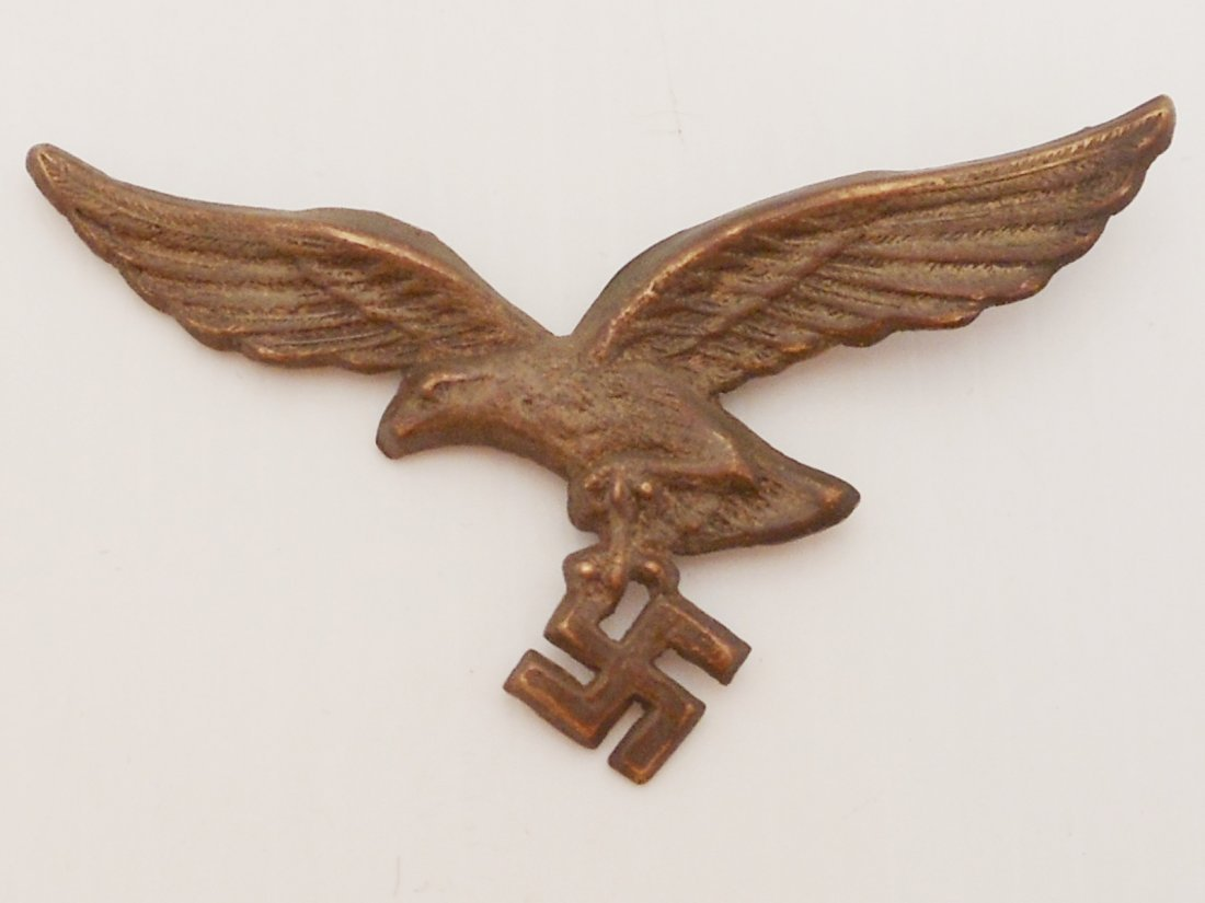 German Luftwaffe Eagle and Swastika Pin - 2