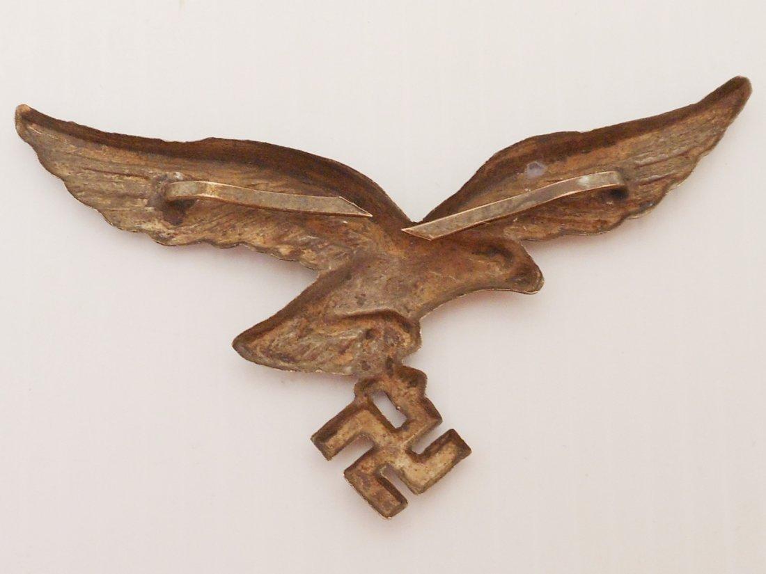 German Luftwaffe Eagle and Swastika Pin - 4