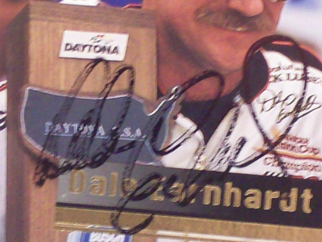 Dale Earnhardt Sr. Autograph - 3