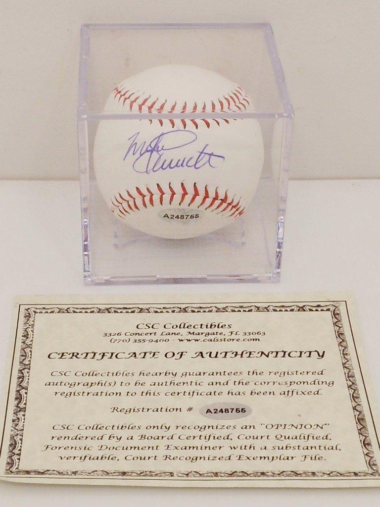 Mike Schmidt Autograph Baseball