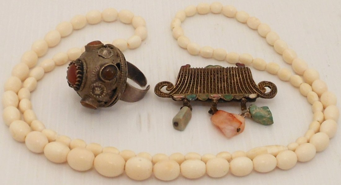 Lot of Three Pieces of Jewelry