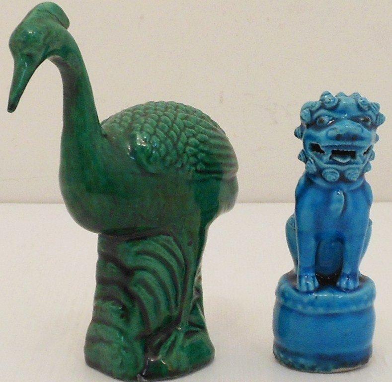 Two Porcelain Figures